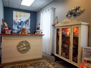 The Ageless Face by Cheryl front desk